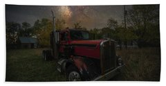 Beach Towel featuring the photograph Rusty  by Aaron J Groen