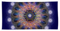 Sacred Geometry 726 Beach Towel