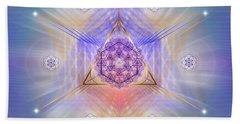 Sacred Geometry 734 Beach Towel