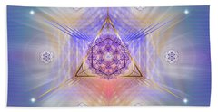 Sacred Geometry 734 Beach Towel