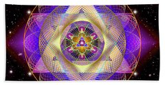 Sacred Geometry 741 Beach Towel
