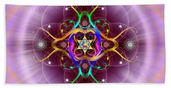 Sacred Geometry 757 Beach Sheet