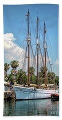 Sailing In Barcelona Beach Sheet