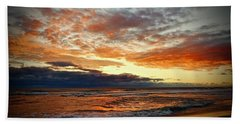 Early Autumn Morning Beach Towel