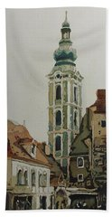 Saint Jost Church Beach Towel