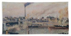 Saint-sever, Rouen - Morning, Five O'clock, 1898 Beach Towel