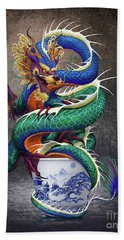 Sake Dragon Beach Towel