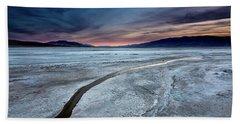 Salt Creek Flats Iv Beach Towel