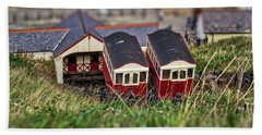 Beach Towel featuring the photograph Saltburn Tramway by Scott Lyons