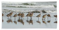 Sandpipers Piping Beach Towel