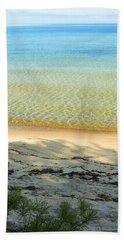 Sandy Blue Beach Towel
