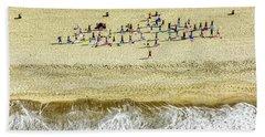 Santa Monica Beach 3 Beach Towel