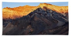 Beach Towel featuring the photograph Sarchu Sunrise by Whitney Goodey