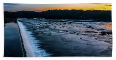 Savannah Rapids Sunrise - Augusta Ga Beach Towel