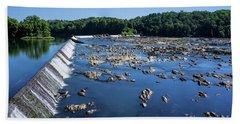 Savannah River Rapids - Augusta Ga 2 Beach Sheet
