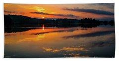 Savannah River Sunrise - Augusta Ga 2 Beach Sheet