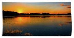 Savannah River Sunrise - Augusta Ga Beach Towel