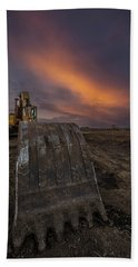 Beach Towel featuring the photograph Scoop by Aaron J Groen