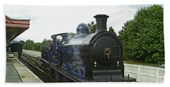 Scotland. Aviemore. Strathspey Railway. Beach Towel