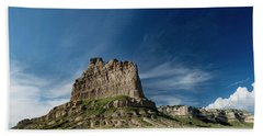 Scottsbluff National Monument In Nebraska Beach Sheet