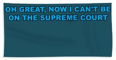 Scotus Beach Towel