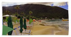 Beach Towel featuring the photograph Sea And Sand by Tony Murtagh