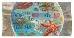 Sea Of Shells Beach Towel