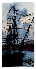 Seafarer Beach Towel