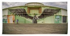 Beach Towel featuring the photograph Seahorse by Steve Stanger