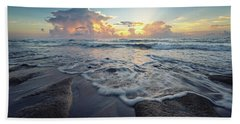 Seascape View Beach Towel