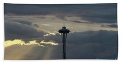 Seattle Light Beach Towel
