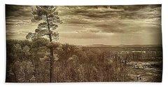 Sepia Sunset Beach Sheet