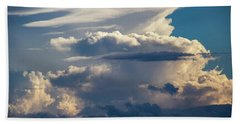 September Storm Chasing 015 Beach Towel