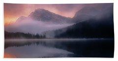 September Sunrise Banff Beach Sheet