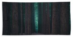 Sequoia Redwood Forest Beach Towel