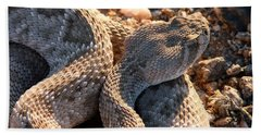 Beach Towel featuring the photograph Serpent Of The Southwest by Judy Kennedy