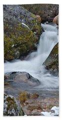 Serra Da Estrela Waterfalls. Portugal Beach Towel