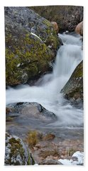 Serra Da Estrela Waterfalls. Portugal Beach Sheet