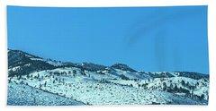 Serria Nevad Mountains Beach Towel