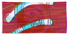 Beach Towel featuring the digital art Set Me Free by Bee-Bee Deigner