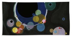 Several Circles - Einige Kreise Beach Towel