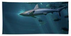 Shark Attack Beach Towel