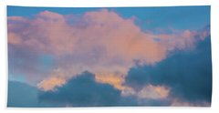 Shades Of Clouds Beach Towel