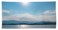 Shadow Mountain Lake Beach Towel