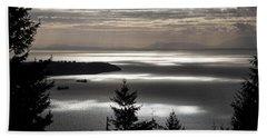 Shadowed Cloud Beach Sheet