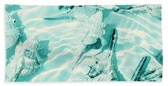 Shell Shallows Beach Towel