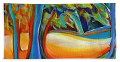 Shimmering Whispers Beach Towel