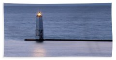 Shining Light Beach Towel