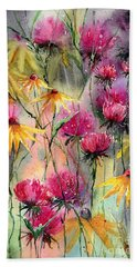 Thistle Beach Towels