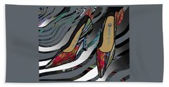 Shoes By Joan - Dragon Fly Wing Pumps Beach Towel